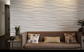 MDF 3d Wall Panel