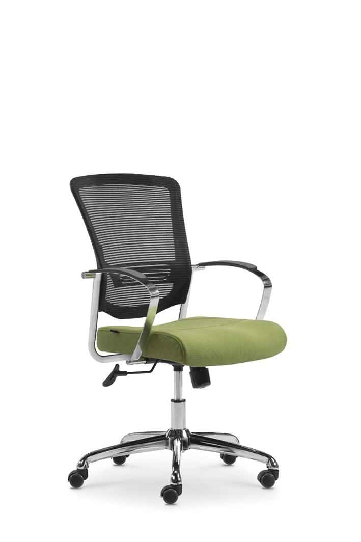 Fabric Seat Mesh back desk chair