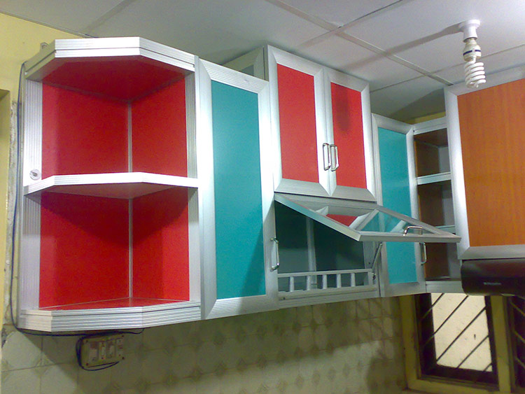 Interior Design Interior Decoration Aluminium Kitchen Cabinet Set Interior
