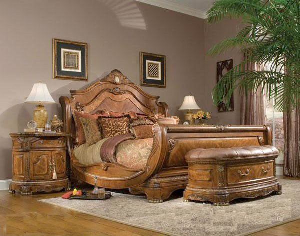 Bedroom Furniture Crown Boat Bed Super Quality